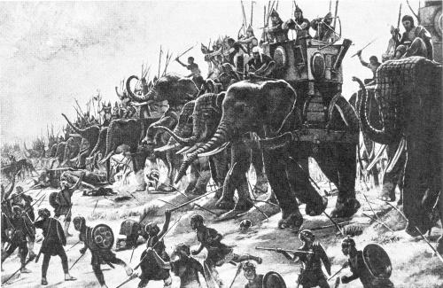 Váleční sloni ve starověku - Memento Historia - historii pamatuj